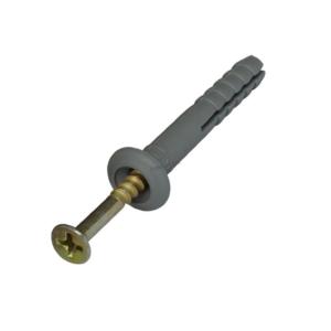 Дюбель-гвоздь 6х40 SM-G грибовидный бортик (200шт) Tech-KREP