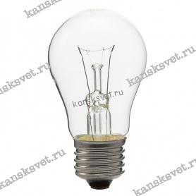Лампа накаливания Б 230-40-1 Е27 Лисма
