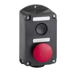 Пост кнопочный ПКЕ 212-2 красный гриб