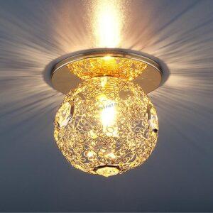 Точечный светильник 1002 G9 GD золото Elektrostandard