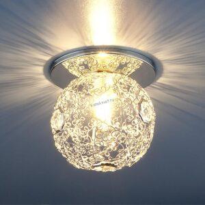 Точечный светильник 1002 G9 SL серебро Elektrostandard