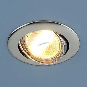 Точечный светильник 104S MR16 CH хром (Elektrostandard)