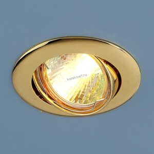 Точечный светильник 104S MR16 GD золото (Elektrostandard)