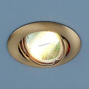 Точечный светильник 104S MR16 SB бронза Elektrostandard