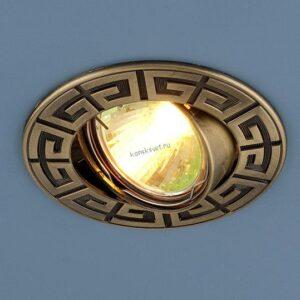 Точечный светильник 120090 MR16 SB бронза Elektrostandard