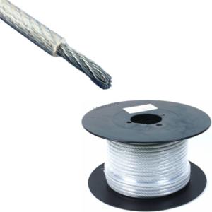 Трос 3/4 мм (в оплетке) DIN 3055