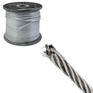 Трос 4 мм (без оплетки) DIN 3055