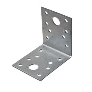 Уголок анкерный 50х130х65 с 2 отверстиями 11 мм