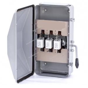Ящик с рубильником ЯБ-3-315-2 У3 IP54 с ППН-315А