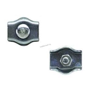 Зажим троса одинарный 5 мм, Simplex
