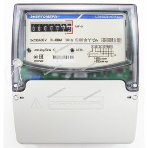Счетчик ЦЭ6803В 10-100А М7 Р32 Энергомера