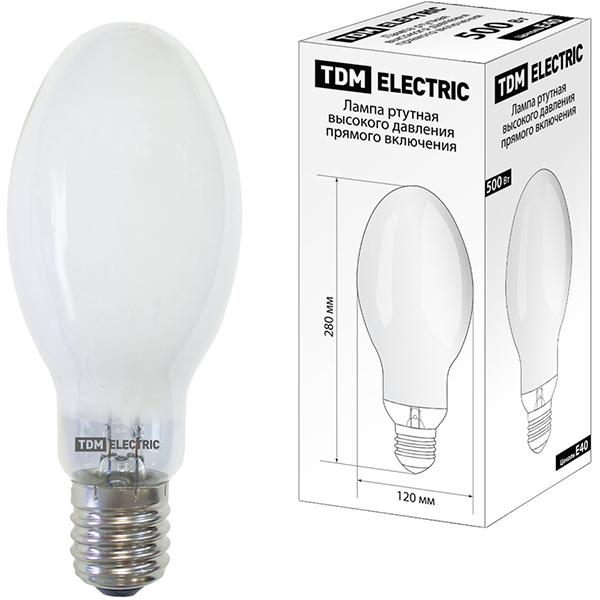 Лампа ДРВ 500Вт Е40 (SQ0325-0021) TDM