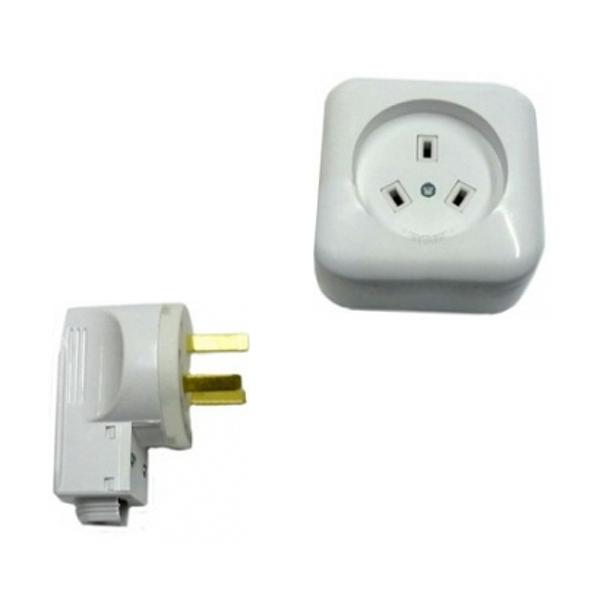 Разъем РШ-ВШ (РА32-002+В32-001) для электроплит (белый)