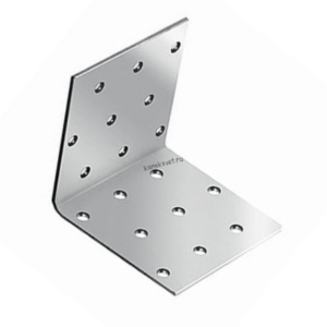 Уголок крепежный 40х40х100 с универсальной перфорацией