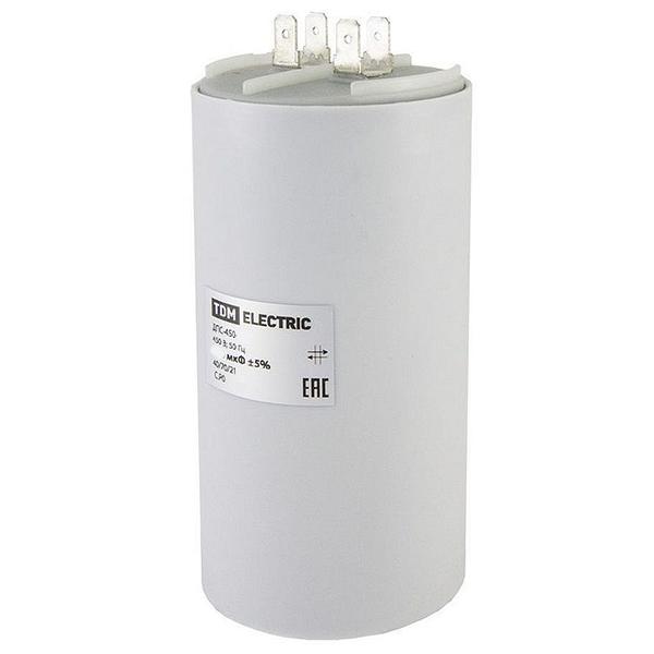 Конденсатор ДПС 450В 45мкф, 5%, плоский разъем, SQ0739-0025 TDM