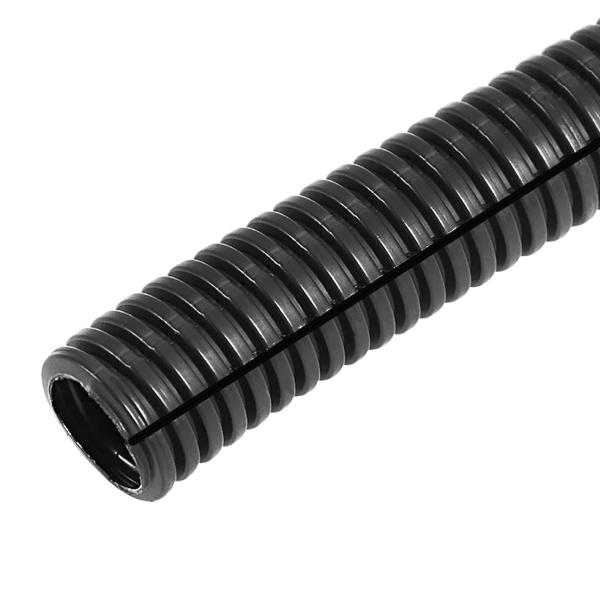 Труба автомобильная гофрированная 6,8мм ПП 50м разрезанная 15-0750 Rexant
