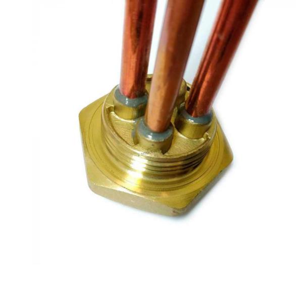 ТЭН RDT 1,2кВт резьба M6 под анод, фланец с резьбой 42 мм для Ariston, ISEA, Real, Thermex арт. 282232