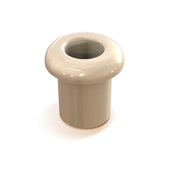 Втулка межстеновая фарфор, цвет - белый GE70010-01 МЕЗОНИНЪ