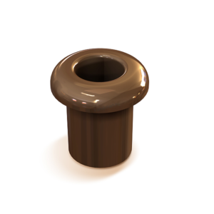 Втулка межстеновая фарфор, цвет - коричневый GE70010-04 МЕЗОНИНЪ