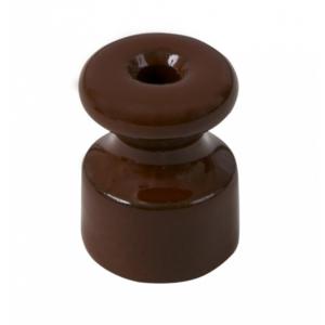 Изолятор керамический, цвет - коричневый GE70025-04 МЕЗОНИНЪ
