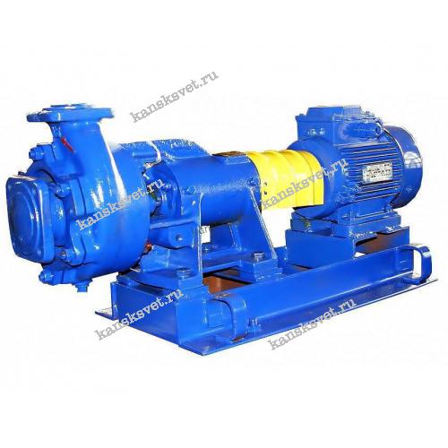 Насос К 65-50-160 с электродвигателем 5,5кВт х 3000 об/мин.