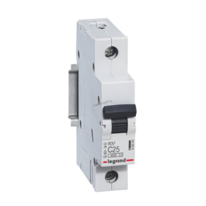 Автоматический выключатель RX3 1п 25А х-ка С 4,5кА 419666 Legrand