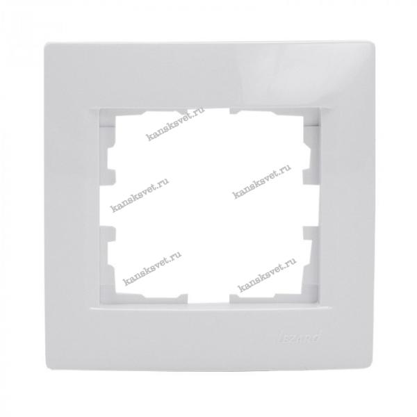 707-0200-146 Рамка 1-ая KARINA белый LEZARD