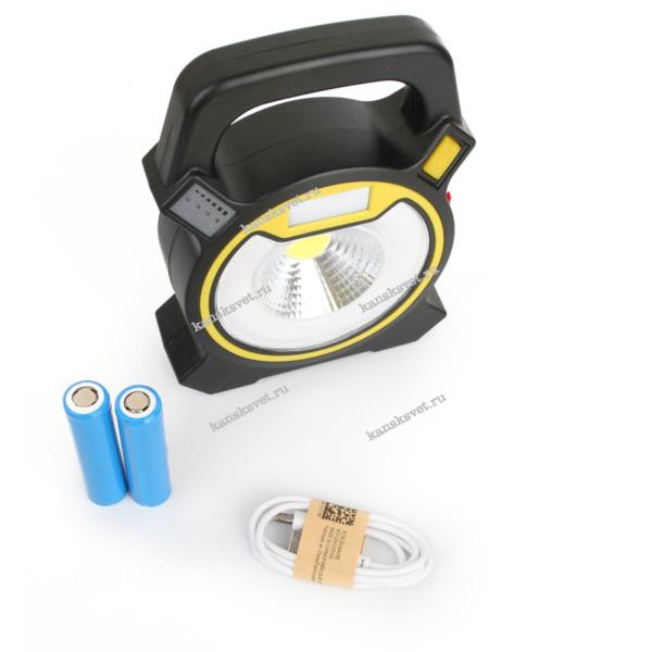 комплектация - Фонарь LED5631 аккумуляторный кемпинговый Camelion